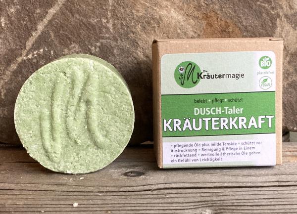 Die Kräutermagie Dusch-Taler Kräuterkraft plastikfrei 75 g